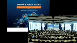 INGSA2016 - Science and Policy Making: towards a new dialogue