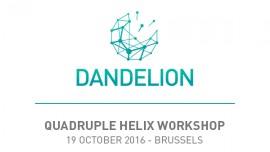 DANDELION Quadruple Helix workshop